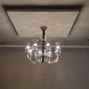 BL553/8L Murano Style Chandelier